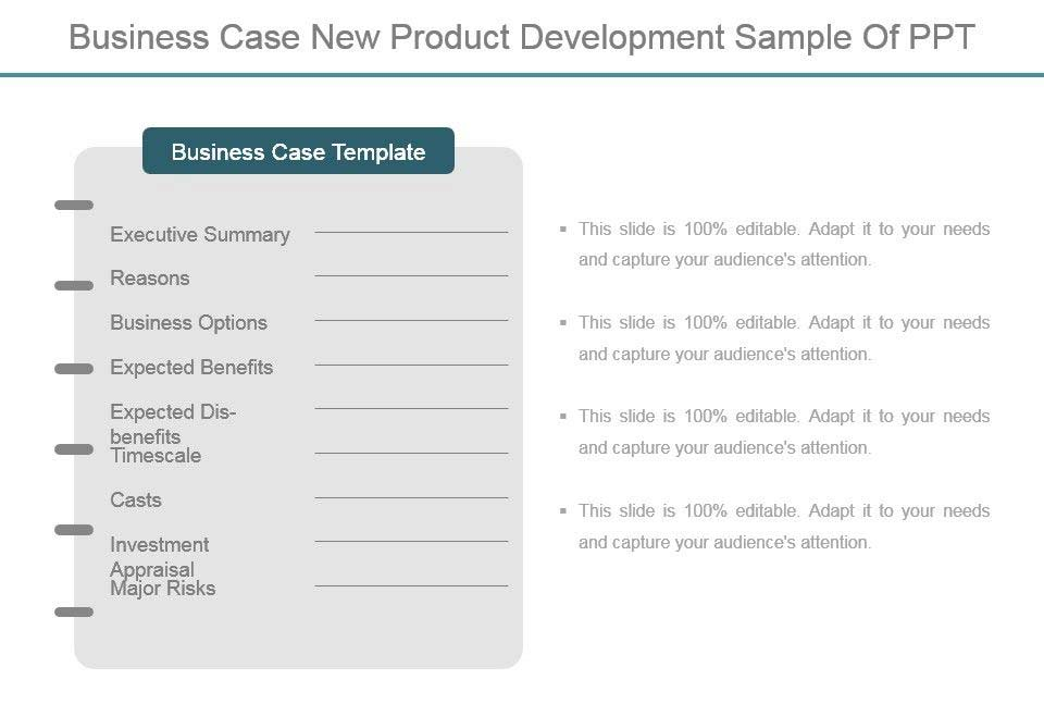 Business-Case-Document-Template