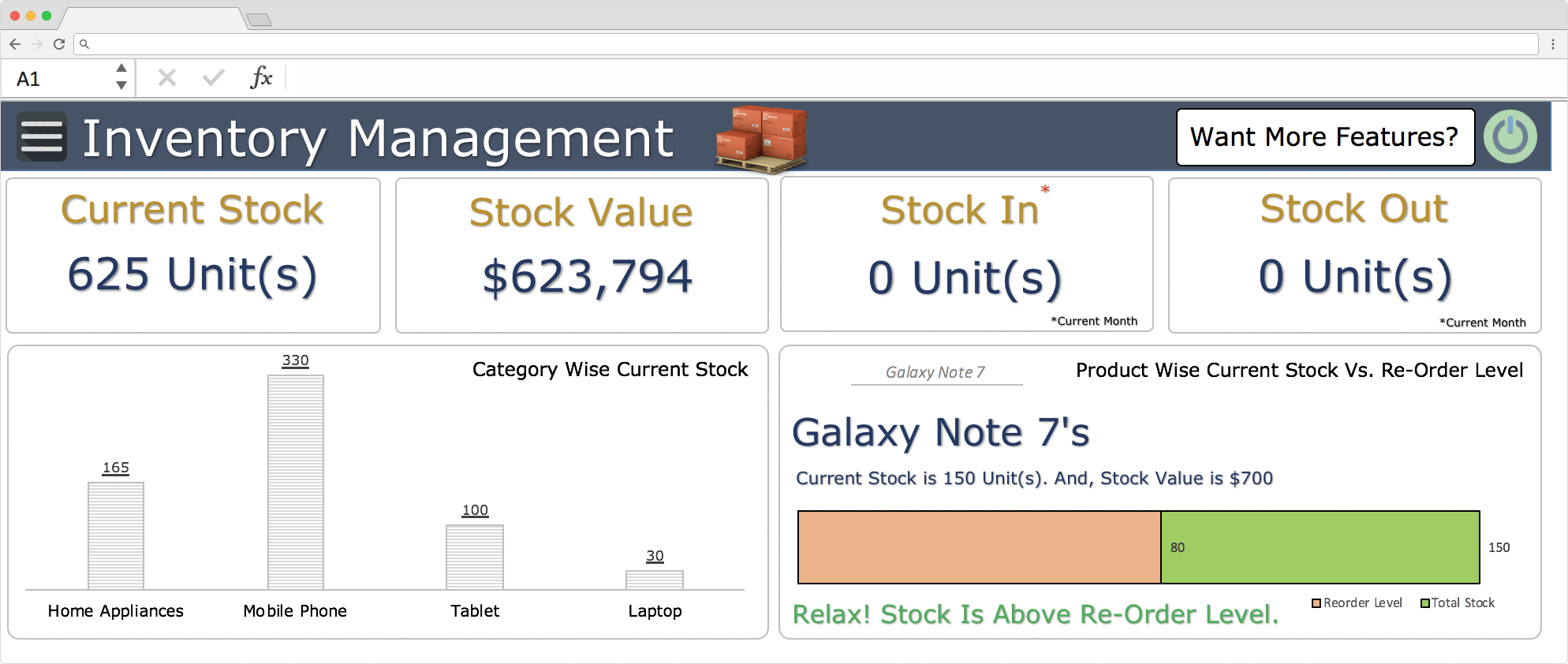 Asset Tracking Template Excel