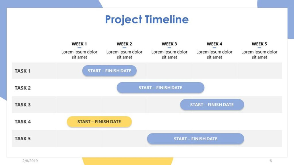 Project Timeline Template Google Sheets